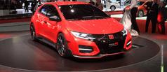 «Тупер»-рекордсмен: Honda показала новый Civic Type R