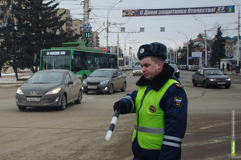 8 марта тамбовские автоинспекторы будут ловить пьяных водителей