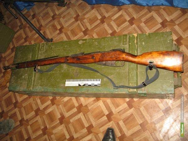 Тамбовчанина поймали на попытке продать оружие