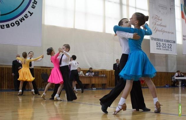 На первенство в Тамбов съехались танцоры со всего ЦФО