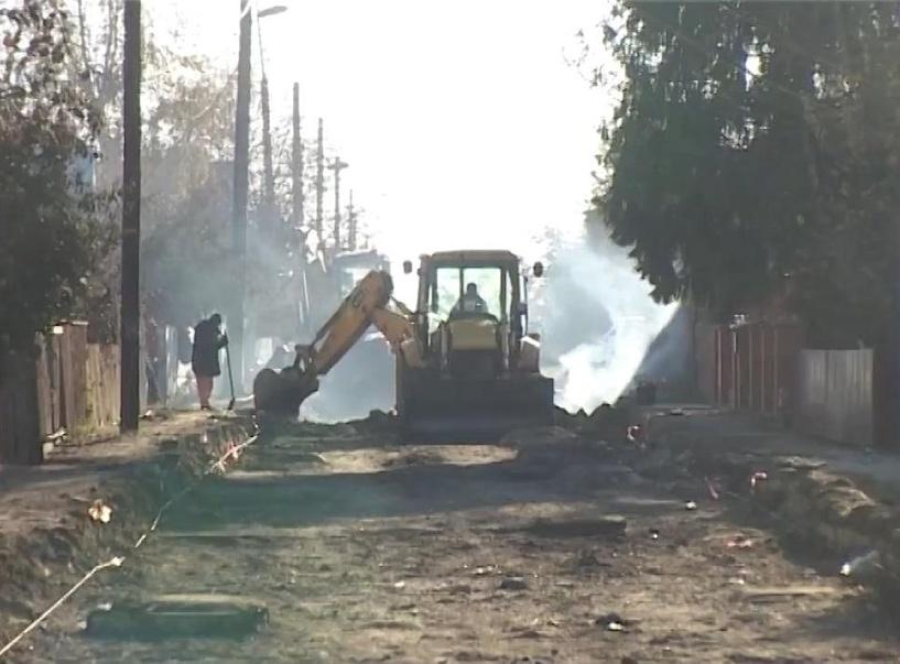 В Тамбове ремонтируют дорогу в Сосновском проезде