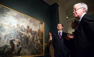 В московском Историческом музее открыли выставку к 135-летию Александра Герасимова