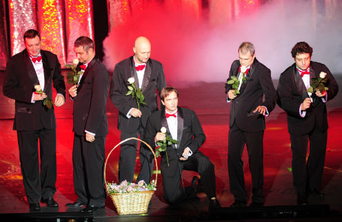 На сцене Мичуринского драмтеатра покажут «Мужской стриптиз»