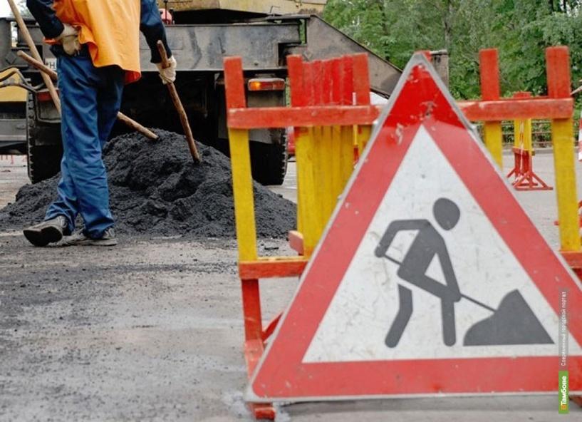 На восьми дворовых территориях Тамбова завершен капитальный ремонт