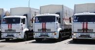 Третий гуманитарный конвой из России въехал на Украину