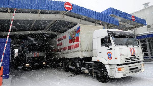 Россия отправила на Донбасс сотни тонн новогодних подарков