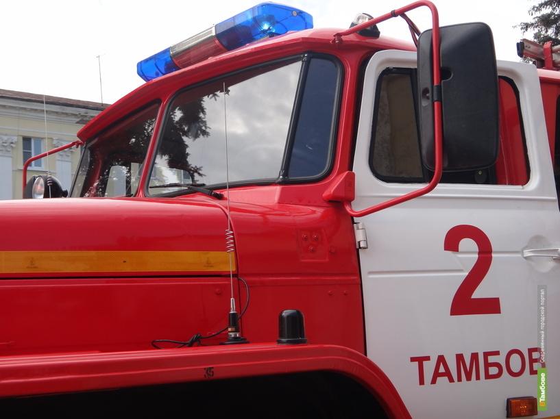 За неделю в огне погибли два тамбовчанина