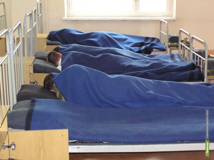 Солдаты будут спать под тамбовскими одеялами