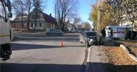 В Тамбове после столкновения с иномаркой «Приора» врезалась в столб
