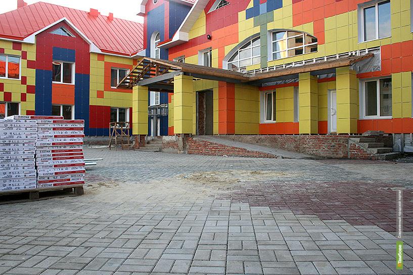 На севере Тамбова откроется детский сад «Подсолнух»