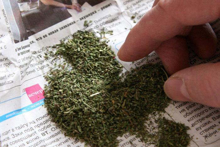 В Мичуринске задержали мужчину с наркотиками