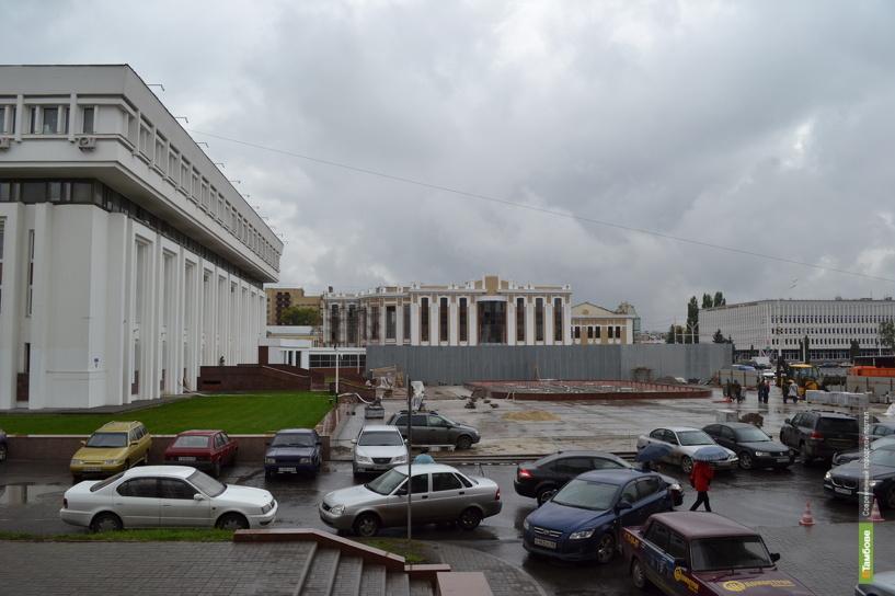 Новый фонтан в Тамбове откроют в октябре