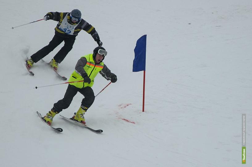 Лыжники и сноубордисты показали свое мастерство на открытом областном чемпионате
