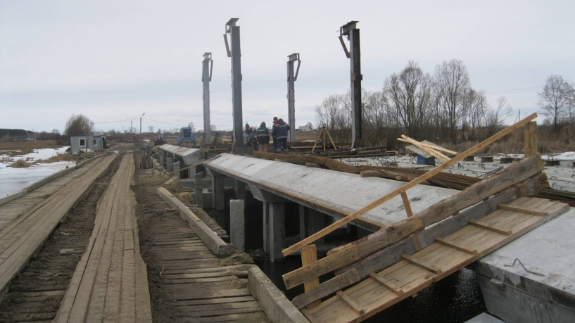 Мост через Цну на автодороге привели в порядок