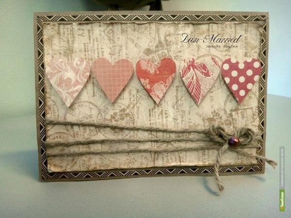Мастер-класс по созданию открытки к Дню святого Валентина