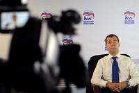 Познер позвал Медведева на «ритуальные танцы» в прямом эфире