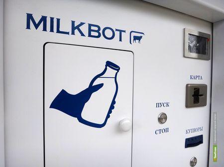 Тамбовчане смогут покупать кисломолочку в автоматах