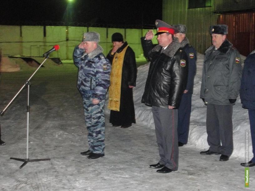 Главный полицейский Тамбовщины отправил бойцов в Чечню