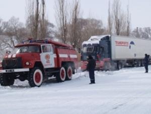 Тамбовские спасатели дежурят на трассе