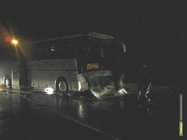 На Тамбовщине столкнулись два автобуса
