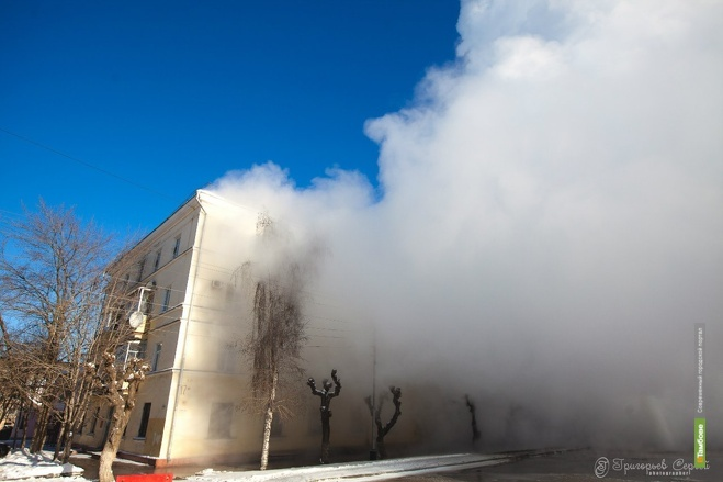 Залитый дом на улице Степана Разина высушат тепловыми пушками
