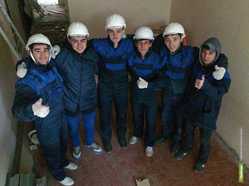 Студенты технического университета съездили в Анапу на слёт молодых строителей