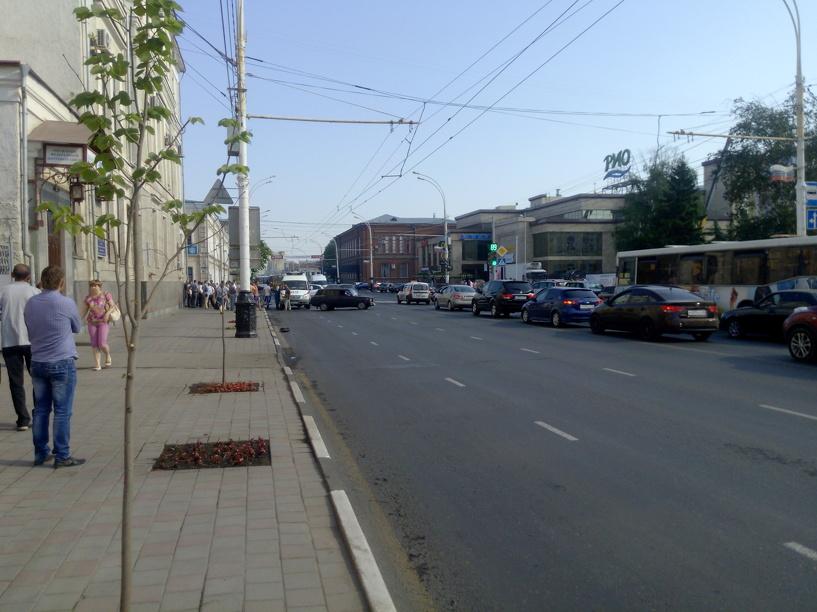В центре Тамбова сбили трех женщин на пешеходном переходе