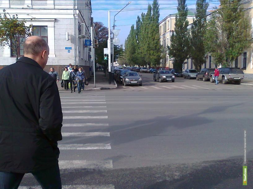 В центре Тамбова автопоток встанет на 3 дня