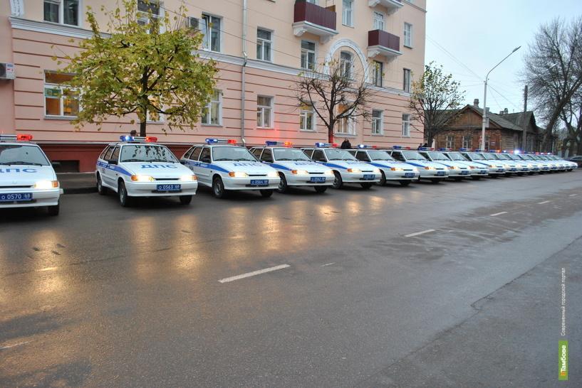 Автопарк тамбовских автоинспекторов пополнился 20 новыми авто