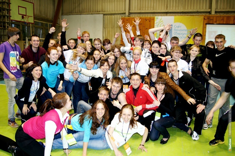 В Тамбов съехались волонтёры из разных стран