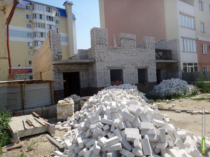 В Тамбове строительная компания незаконно возводит многоэтажку