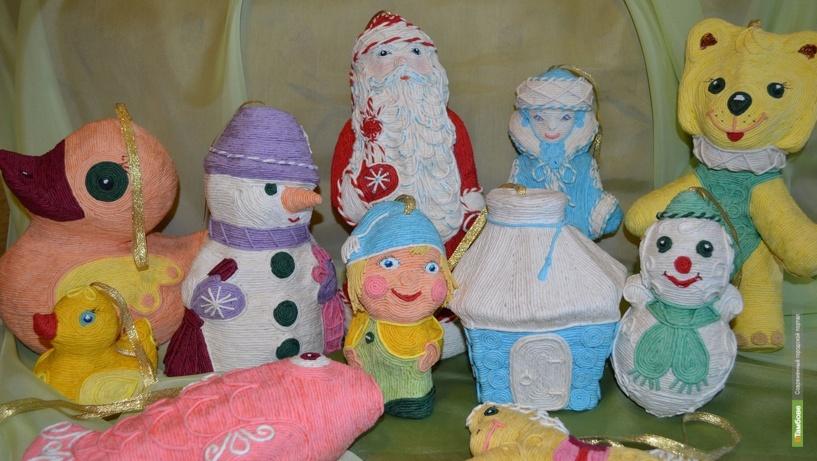 Резиденцию Деда Мороза украсят тамбовские игрушки