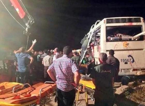 Среди пострадавших при столкновении автобусов в Египте россиян нет