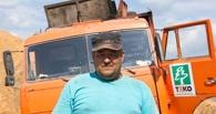 В Тамбове загорелся мусоровоз, который ехал из рейса
