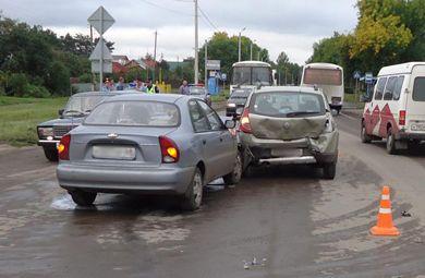 В Рассказово в автоаварии пострадал 10-летний ребёнок