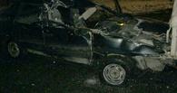 Пьяный водитель врезался в припаркованные авто