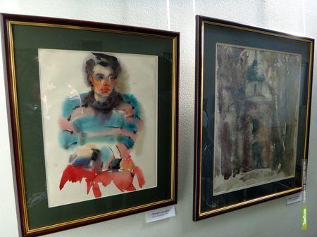 В Выставочном зале тамбовского отделения Союза художников откроется двойная экспозиция