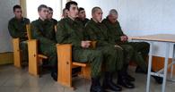Тамбовские призывники отправились на место службы