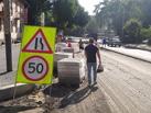 Тамбовчан выгнали с тротуара на проезжую часть