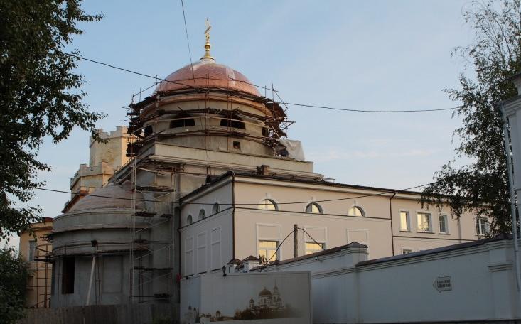 Москва оплатит реставрацию Ново-Тихвинского монастыря