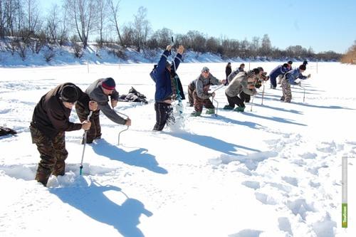 Воронежцы стали лучшими рыболовами Тамбовской области