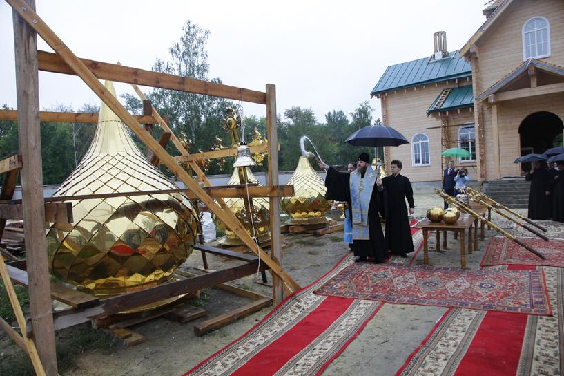 Еще один храм Тамбова обзавелся куполами