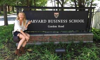 Спортсменка Мария Шарапова будет учиться в Гарварде