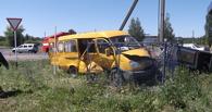 Под Мичуринском в ДТП попала маршрутка с пассажирами