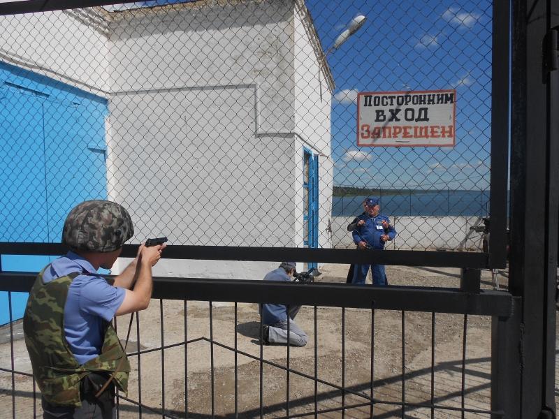 Полицейские провели учения на Котовском водохранилище