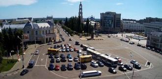 Центр Тамбова решили пока оставить без платных парковок