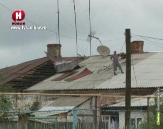 Страховщики оценят ущерб тамбовчан от разгула стихии 16 июля