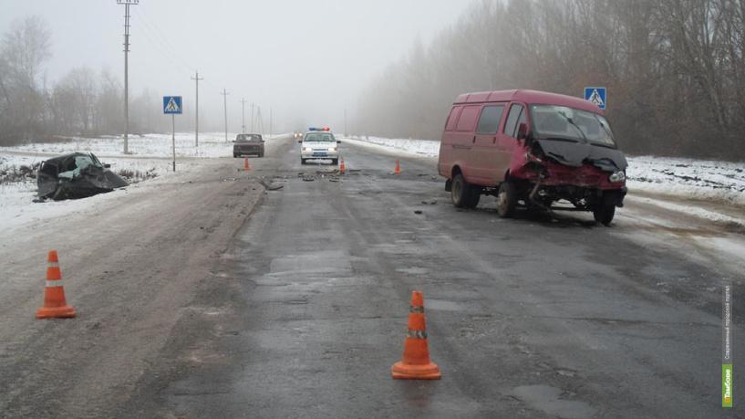 В Сампурском районе после аварии погиб автомобилист