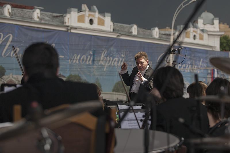 Коллективы тамбовской филармонии выступят под открытым небом