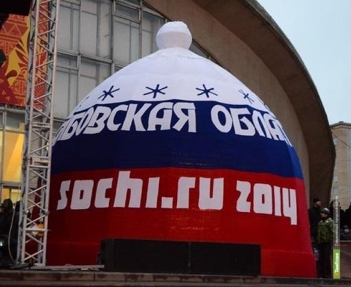 Шапку-чемпионку вязали в течение четырёх месяцев